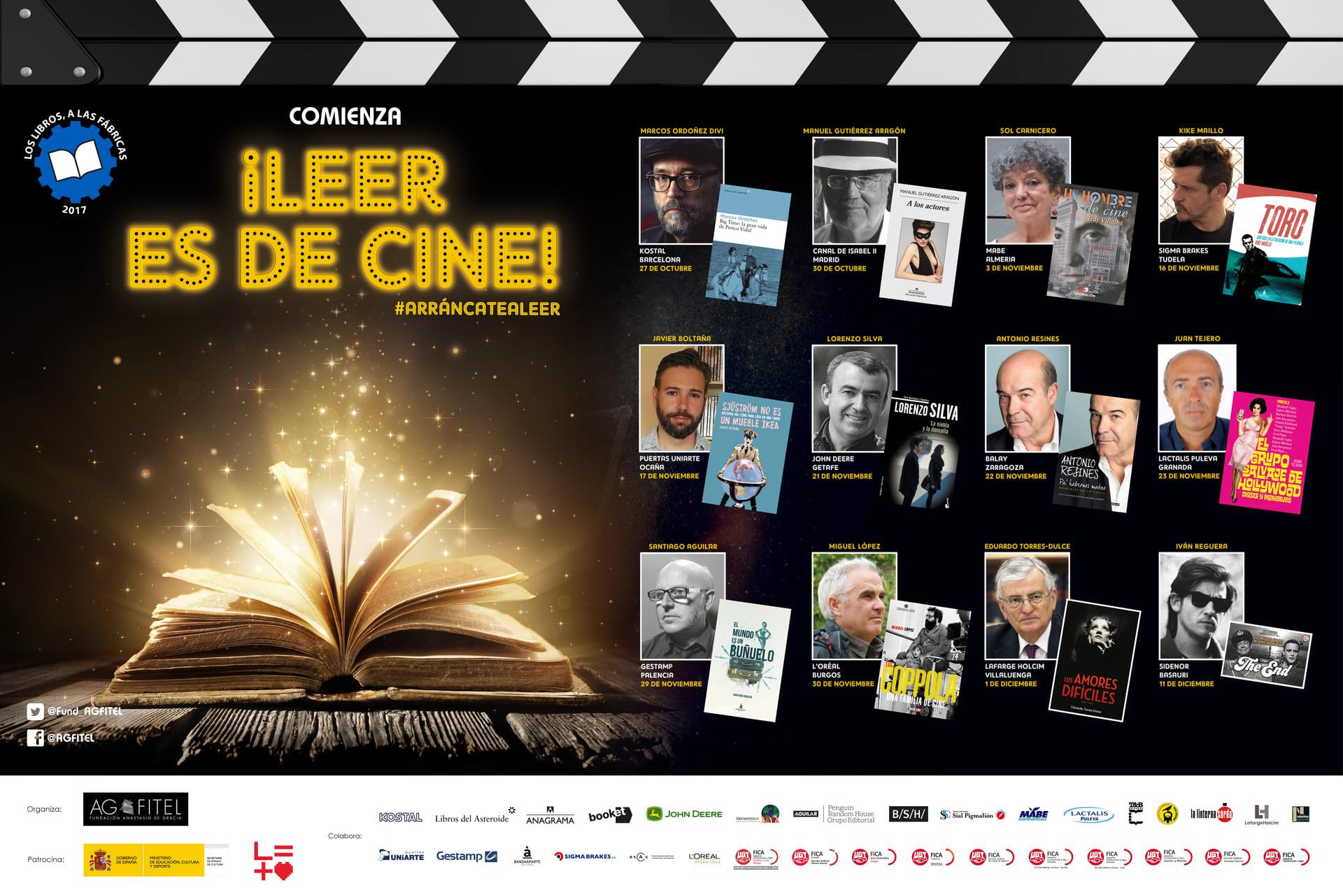 ¡Leer es de cine!