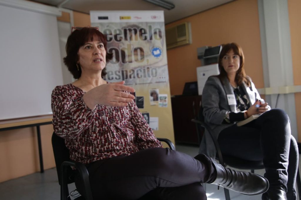 Lara Smirnov en Portland Valderribas