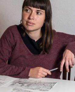 Biel Alino. 18/17/2017 Valencia. Comunitat Valenciana. ARTS. Entrevista a Ana Penyas, ganadora del Premio Fnac Salamandra de Ilustración.