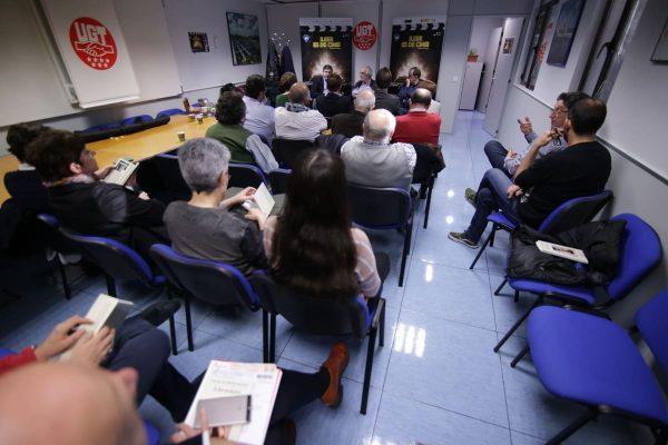 Manuel Gutiérrez Aragón acercó a los trabajadores del Canal de Isabel II su homenaje al mundo de la interpretación a través del libro A los actores
