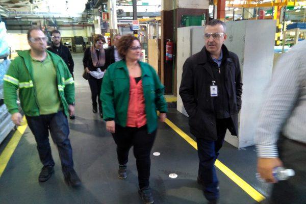 Lorenzo Silva conoció el proceso de producción de John Deere tras hablar con sus trabajadores sobre su libro La niebla y la doncella