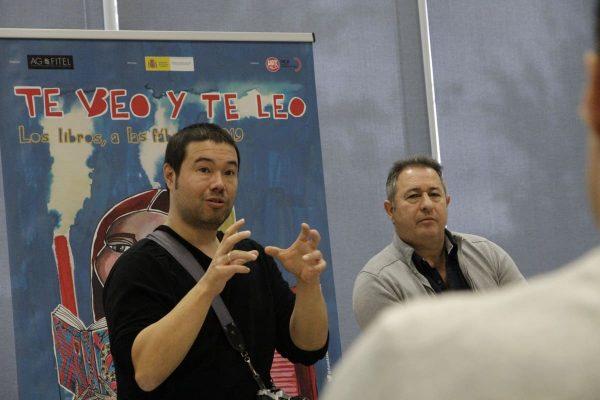 Jun Matsuura, autor de la adaptación al manga de La muerte de Sócrates , compartió su obra con los trabajadores de Pepsico