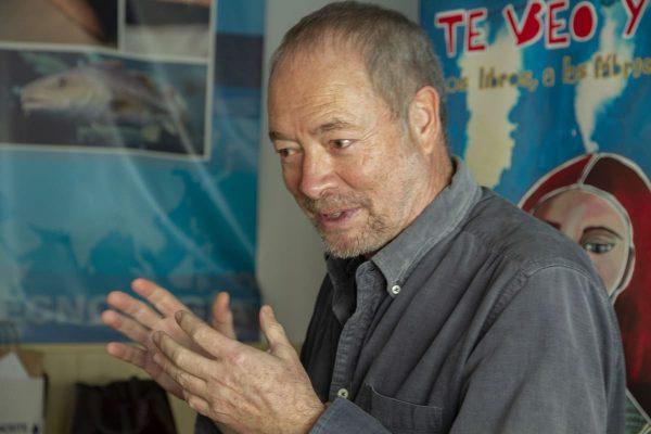 Los trabajadores de Ubago solo pudieron compartir coloquio sobre Llegará el invierno con uno de sus autores, el guionista Pepe Gálvez. El dibujante Alfonso López no pudo asistir por una complicación de agenda